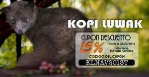 Cupón descuento de Kopi Luwak