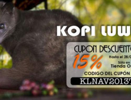 Kopi Luwak con descuento 15% y portes gratis hasta el 28/02/2014