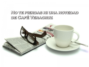 No te pierdas ni una novedad de Café Veracruz