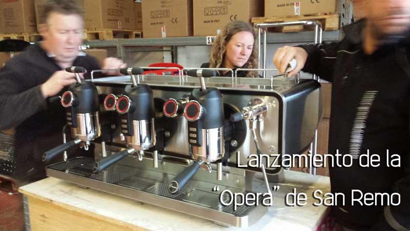Lanzamiento de Opera de SanRemo