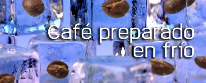 café preparado en frío