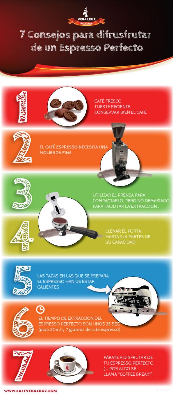 7 consejos para disfrutar de un espresso perfecto