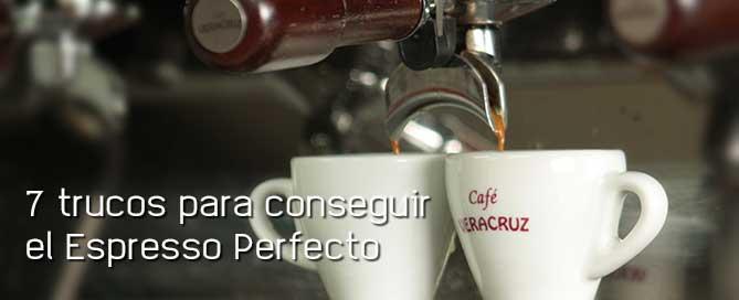 7 trucos para conseguir el espresso perfecto