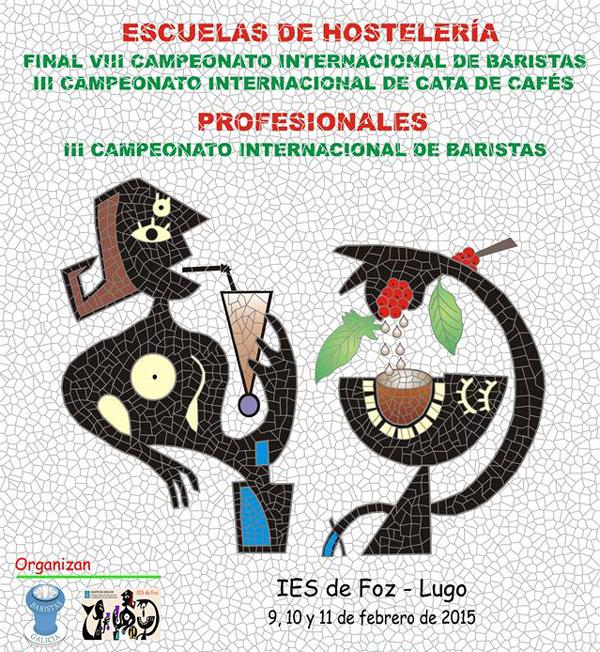 Campeonato Internacional de Baristas de Foz - Edición 2015
