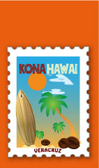 Café Kona de Hawaii (en Veracruz)