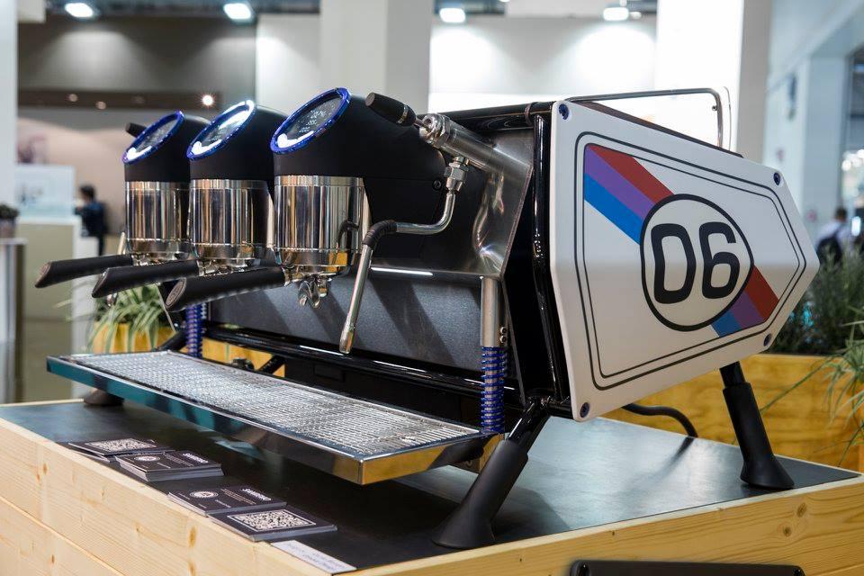 SanRemo presentó en HOST 2015 su nueva máquina: Café Racer!