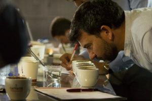 Cata tradicional dirigida por Eduardo Assad en Café Veracruz