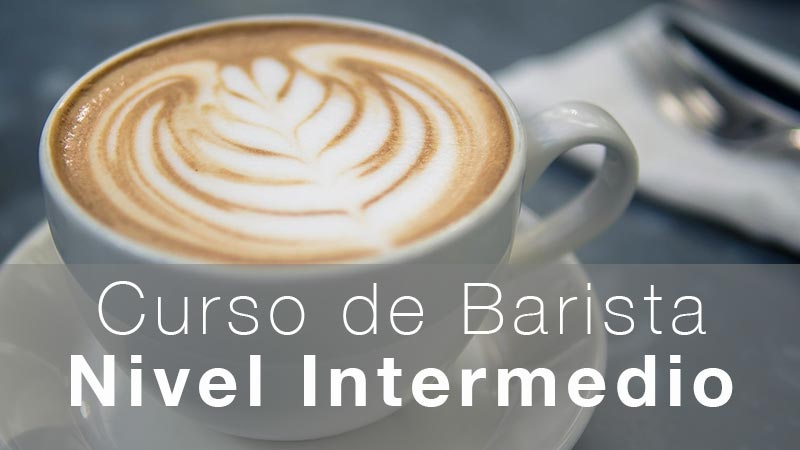 Curso de Barista Nivel Intermedio